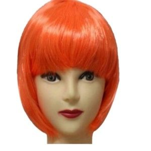 Accessories - orange bob wig -- WILLING TO TAKE OFFERS